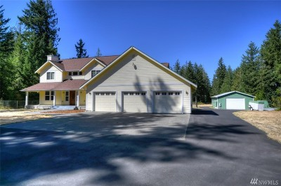 Tenino Single Family Home For Sale: 14620 McIntosh Lane SE