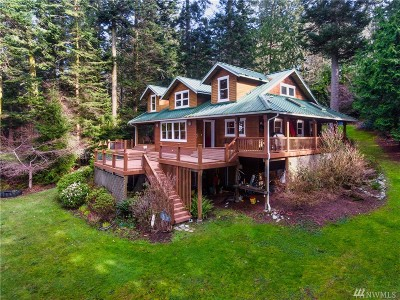 Skagit County Single Family Home For Sale: 14850 Snee-Oosh Rd