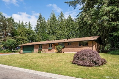 Bothell Single Family Home For Sale: 19215 34th Dr SE