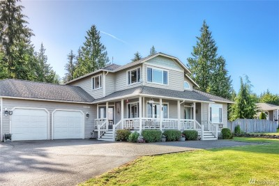 Lake Stevens Single Family Home For Sale: 12818 123rd Ave NE