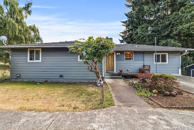 SeaTac Single Family Home For Sale: 3237 S 166th St