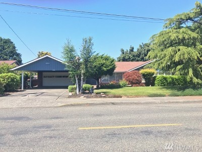 Chehalis Single Family Home For Sale: 1690 SW Snively Ave