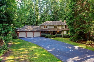 Redmond Single Family Home For Sale: 4805 228th Ave NE