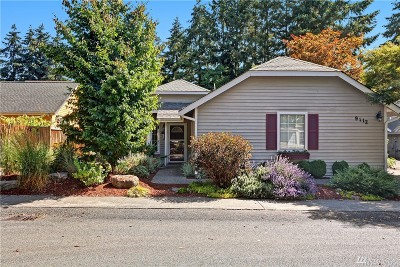 Redmond Single Family Home For Sale: 9112 183rd Ct NE