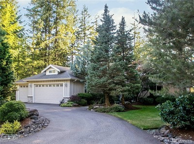 North Bend WA Single Family Home For Sale: $875,000