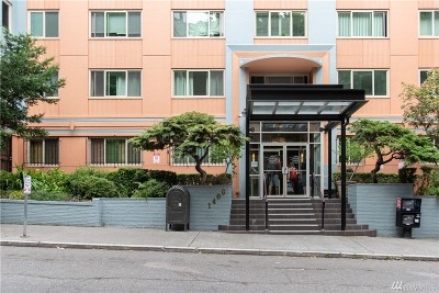 Condo/Townhouse Sold: 1400 Hubbell Place #608