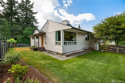 Burien Single Family Home For Sale: 13227 5th Ave SW