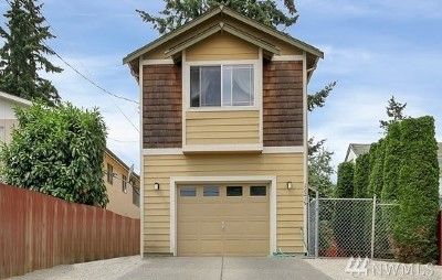 Burien Single Family Home For Sale: 12215 1st Ave SW