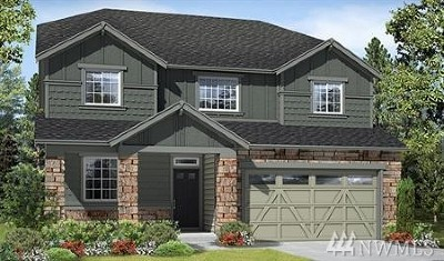 Bonney Lake Single Family Home For Sale: 19541 136th St E