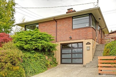 King County Single Family Home For Sale: 4621 SW Admiral Wy