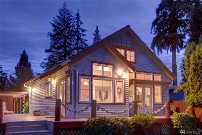 Stanwood Single Family Home For Sale: 16103 Peninsula Rd