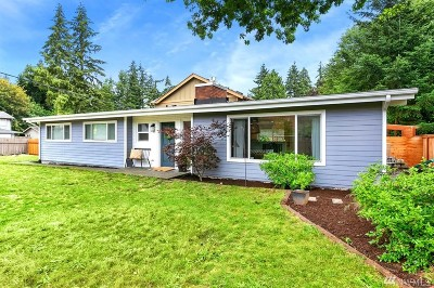 Kirkland Single Family Home For Sale: 12407 NE 140th St