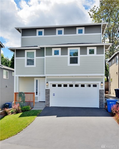 Burien Single Family Home For Sale: 2745 S 124th Lane