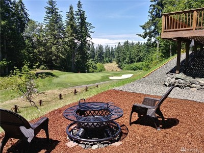 Port Ludlow Single Family Home For Sale: 126 Deer Hollow Cir