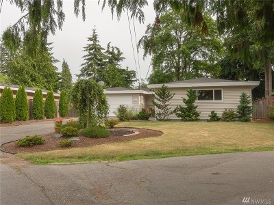 Burien Single Family Home For Sale: 15841 14th Ave SW