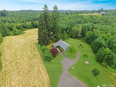 Thurston County Single Family Home For Sale: 13900 Peterson Rd SW
