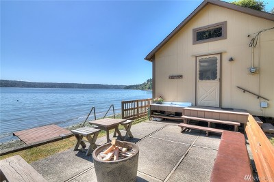 Gig Harbor Single Family Home For Sale: 14921 Maplewood Beach Dr NW