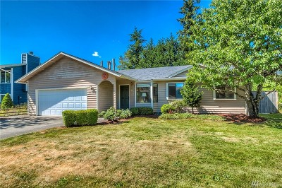 Maple Valley Single Family Home Contingent: 21318 SE 271st Place