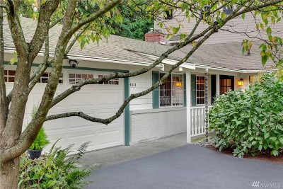Bellevue Single Family Home For Sale: 4041 162nd Ave SE