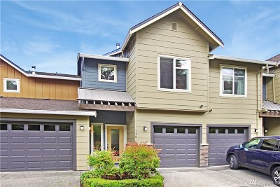 Issaquah Condo/Townhouse For Sale: 140 Sky Ridge Rd NW
