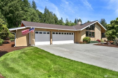 Monroe Single Family Home For Sale: 23803 150th St SE
