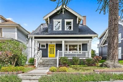 Seattle Single Family Home For Sale: 2218 Warren Ave N