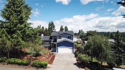 Tacoma Single Family Home For Sale: 3502 Northshore Blvd NE
