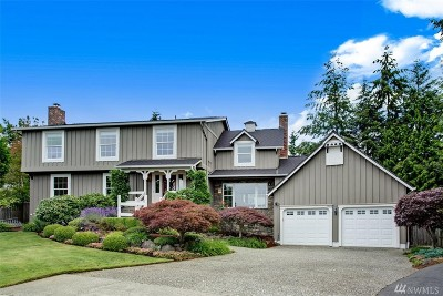 Bellevue Single Family Home For Sale: 13804 SE 52nd Place
