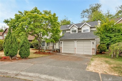 Federal Way Single Family Home For Sale: 32837 8th Place SW