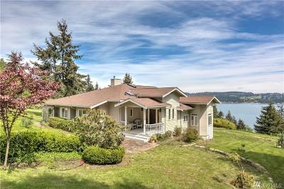 Freeland Single Family Home For Sale: 4717 Honeymoon Bay Rd