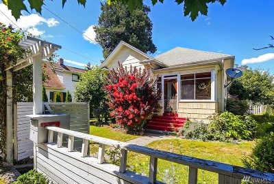 Seattle Single Family Home For Sale: 1052 S Donovan St