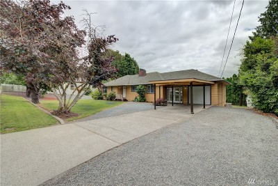 Snohomish Single Family Home For Sale: 729 10th St