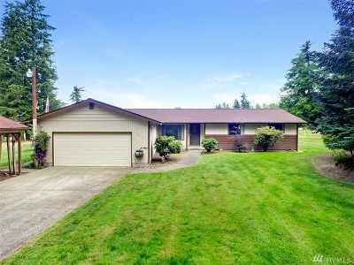 Graham WA Single Family Home For Sale: $549,900