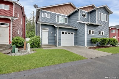 Puyallup Condo/Townhouse For Sale: 6524 127th St Ct E