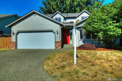 Thurston County Single Family Home For Sale: 884 Anthony Ct SW