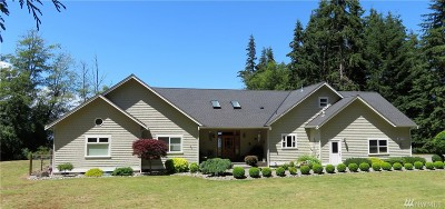 Freeland Single Family Home Sold: 6070 Wahl Rd