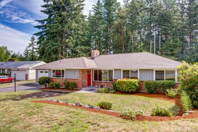 Shoreline Single Family Home For Sale: 20018 Meridian Place N