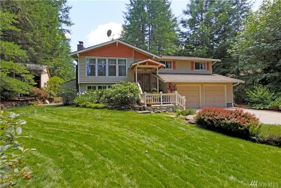 Port Orchard Single Family Home Contingent: 6805 N Van Decar Rd SE