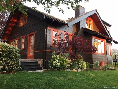 Bellingham Single Family Home For Sale: 1600 Knox Ave