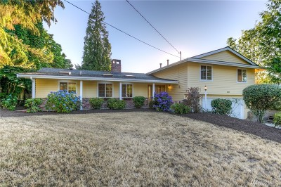 Bellevue Single Family Home For Sale: 6005 121st Ave SE
