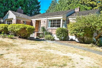 Normandy Park Single Family Home For Sale: 21020 Marine View Dr SW