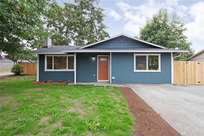 Spanaway Single Family Home For Sale: 17124 6th Ave E
