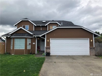 Orting Single Family Home Contingent: 512 Skinner Wy SW