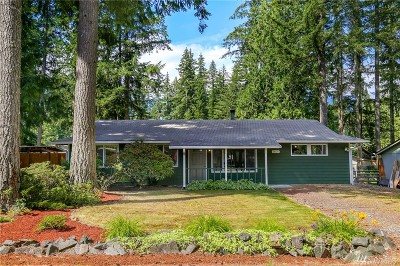 North Bend Single Family Home For Sale: 14721 445th Ave SE