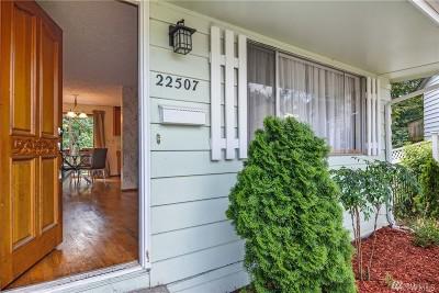 Mountlake Terrace Single Family Home For Sale: 22507 51st Ave W