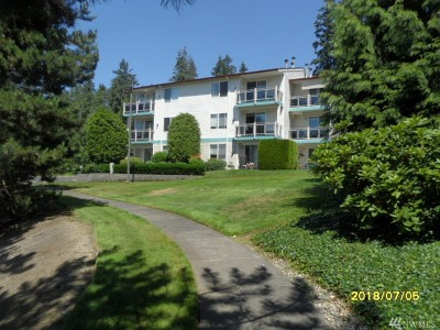 Mountlake Terrace Condo/Townhouse For Sale: 23007 Lakeview Dr #A203