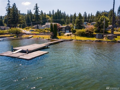 Bellingham Single Family Home For Sale: 2875 Lake Whatcom Blvd