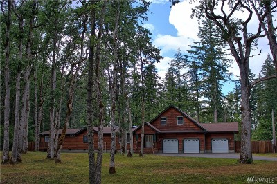 Rainier Single Family Home For Sale: 17218 Reichel Rd SE