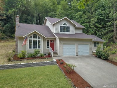 Mason County Single Family Home Pending: 591 E Gosser Rd