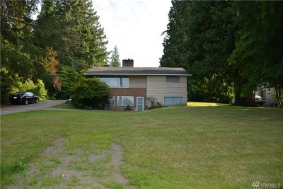 Lynnwood Single Family Home For Sale: 3822 Shelby Rd